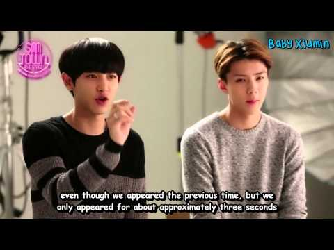 [ENG] 150801 EXO Chanyeol Sehun- SMTheStage Interview