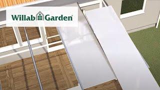 Willab Garden Takmontering