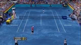 Madrid 2012 Finale - Roger Federer vs Tomas Berdych