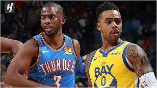 Golden State Warriors vs Oklahoma City Thunder - Full Game Highlights | November 9, 2019 NBA Season