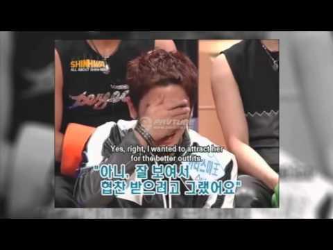 Funny SHINHWA clips (Part 1)