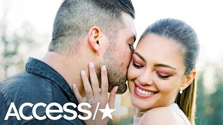 Tim Tebow Is Engaged To Former Miss Universe Demi-Leigh Nel-Peters | Access