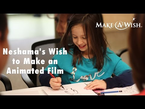 Neshama's Wish to Make an Animated Film