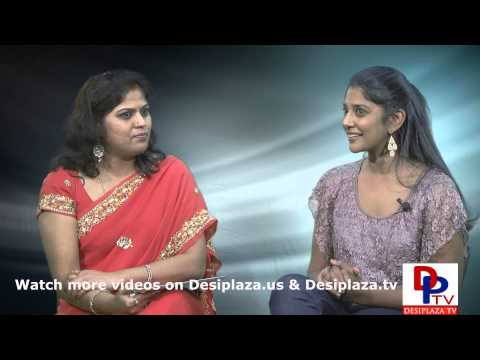 Part 1.Ms.Krishna Smitha our own local movie actress talking to Desiplaza TV.