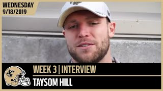 Taysom Hill Talks Brees, Payton's Leadership Ahead of Week 3 at Seahawks | New Orleans Saints