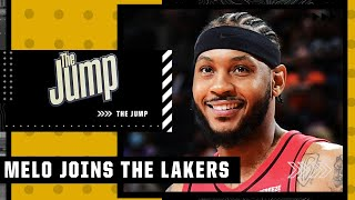 The Jump reacts to Carmelo Anthony agreeing to join the Lakers