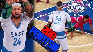 SCORING 200 POINTS IN THE ALL STAR GAME!! NBA 2K16 MyCAREER Ep. 71