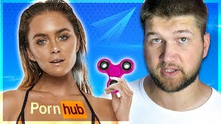 Глупый тренд? СПИННЕР на PornHub и СТРЕЛА в реальной жизни.