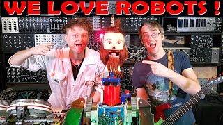 Dancing Robot with Look Mum No Computer