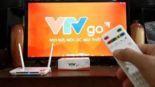 Hướng dẫ sử dụng Box VTV Go đập hộp, xem truyền hình Việt Nam không mất phí
