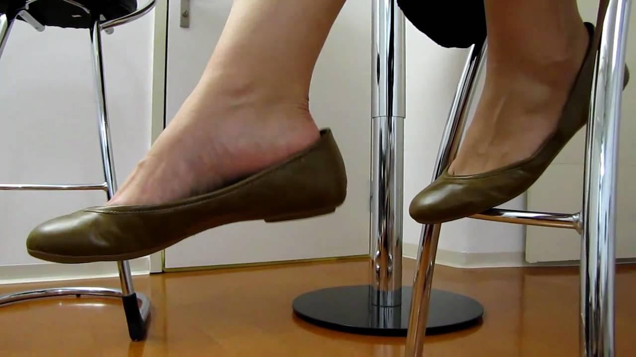 Brown Ballerina Flats Dangling Youtube
