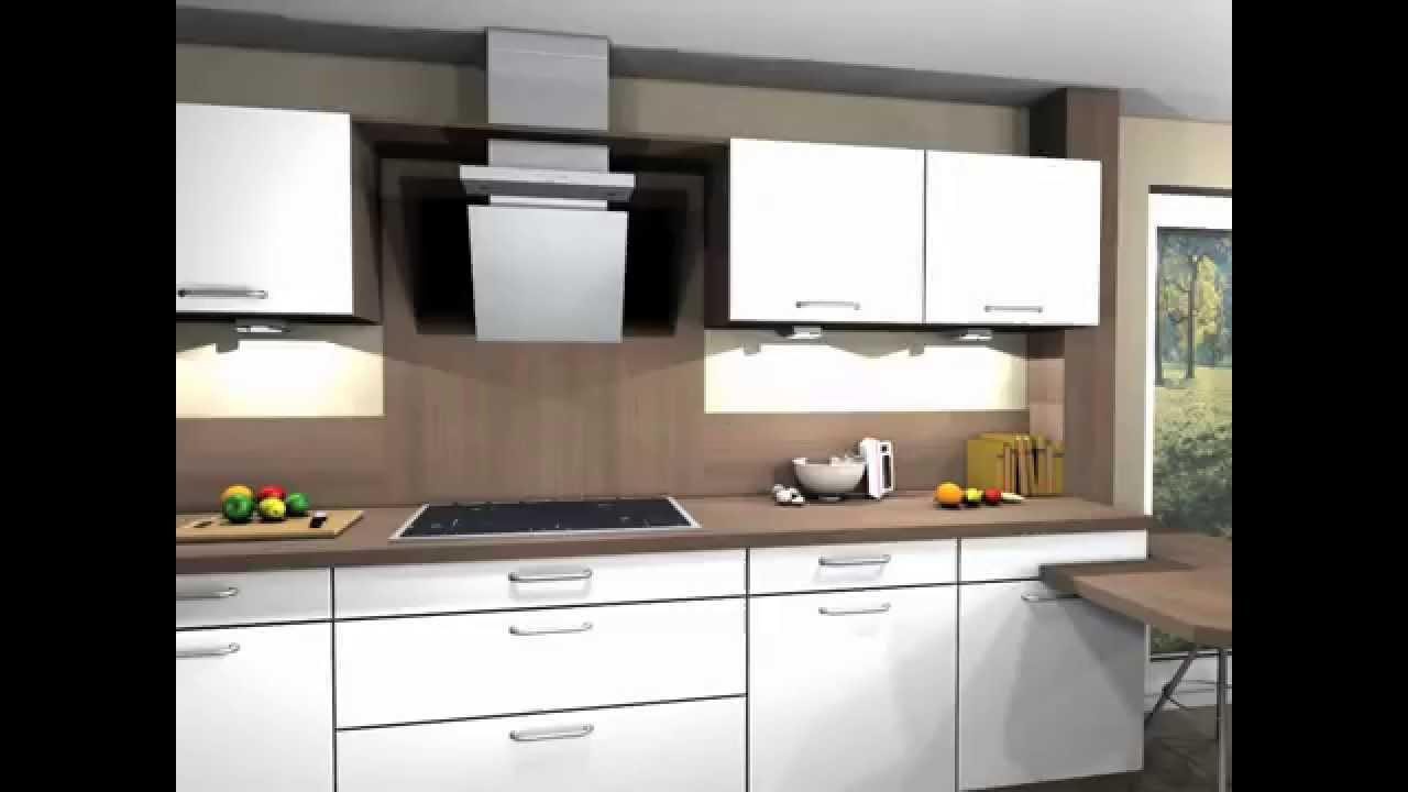 3d k chenmovie sch ller k che modell nova k100s wei youtube. Black Bedroom Furniture Sets. Home Design Ideas