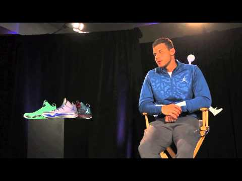 Blake Griffin Interview: Jordan Super.Fly 2 - YouTube