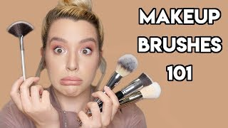 Makeup Brushes 101 // Olivia Marie MUA