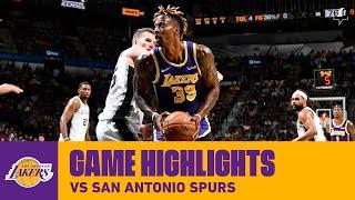 HIGHLIGHTS | Dwight Howard (14 pts, 13 reb) vs. San Antonio Spurs (11/3/19) | Lakers