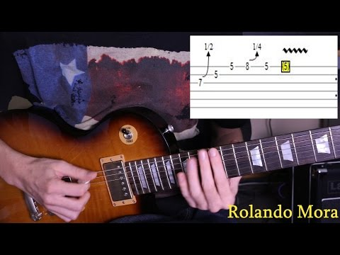 Como tocar blues en la guitarra electrica con 12 licks legendarios