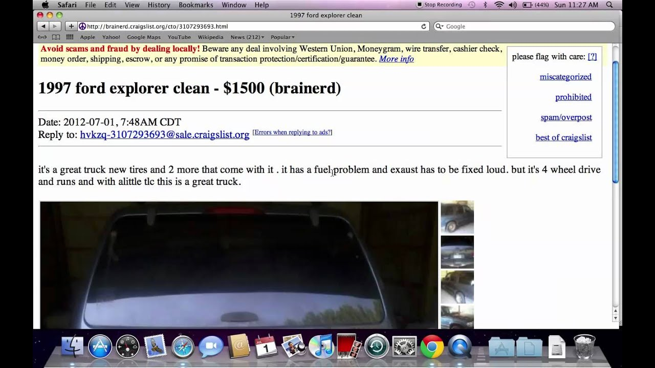 Craigslist Brainerd MN Used Cars For Sale