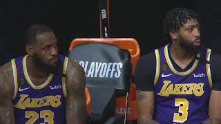 LeBron 0 Pts 4th! Rockets Blowout Lakers Game 1! 2020 NBA Playoffs
