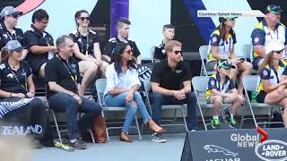 Prince Harry spotted with girlfriend Meghan Markle at Invictus Games