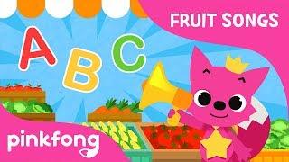 Fruit-Veggie ABC | Fruit Song | Pinkfong Songs for Children