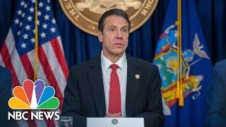 Live: New York Governor Andrew Cuomo Holds Last Daily Coronavirus Briefing | NBC News