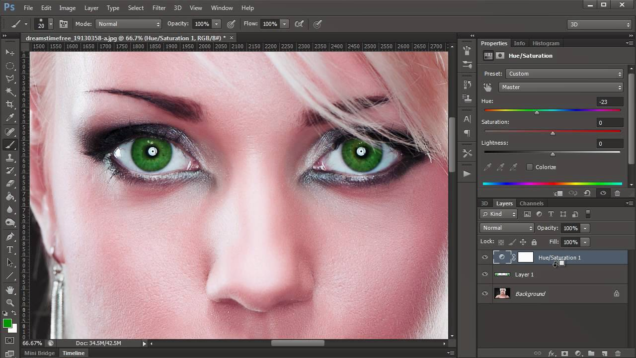how to change face color in adobe photoshop 7.0