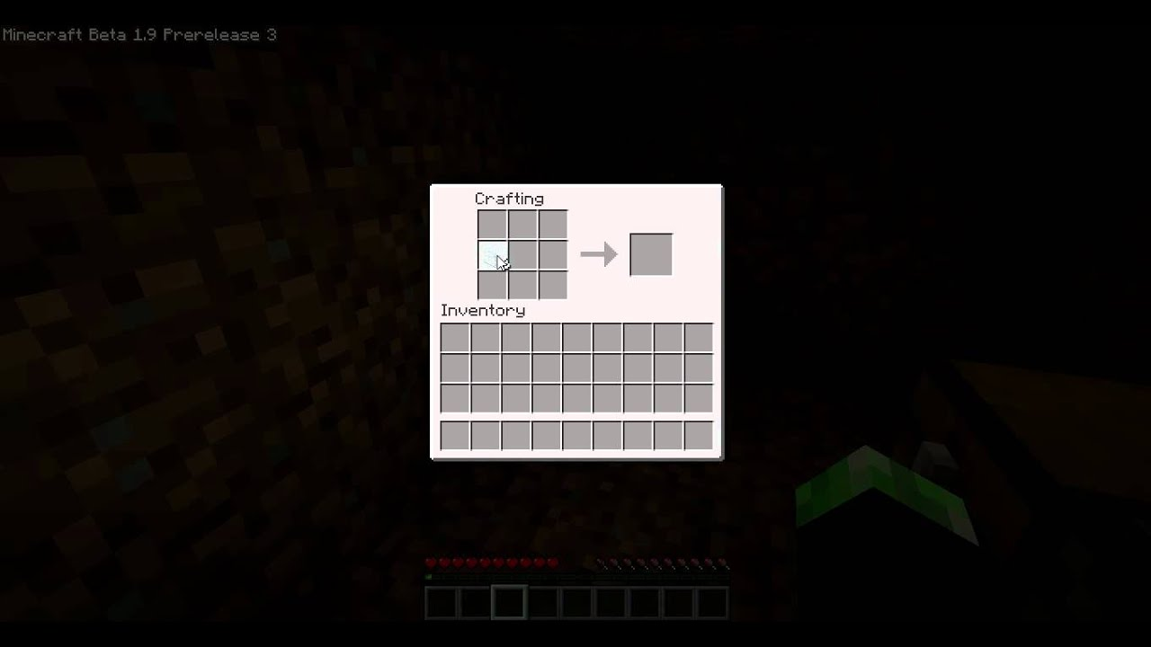 """Minecraft Tutorial - How To Make A """"Glass Bottle"""" - YouTube"""
