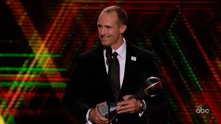 Drew Brees | Best Record Breaking Performance | ESPY Awards 2019