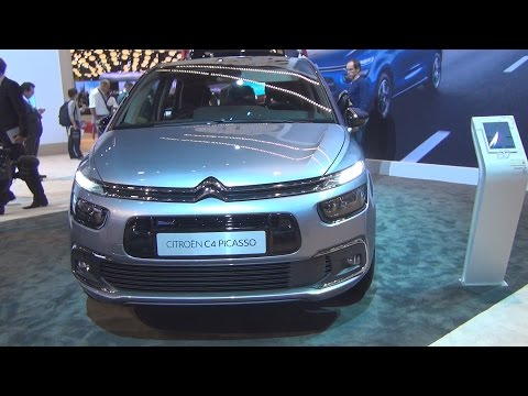 Citroën C4 Picasso PureTech 130 S&S EAT6 Feel (2017) Exterior and Interior in 3D