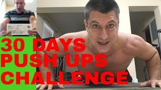 30 DAYS PUSH UP CHALLENGE / DAY 4  OF 200 PUSH UPS / HOME WORKOUT / CPA Strength Live Stream
