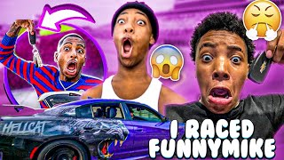 I RACE FUNNYMIKE AND JAY (IT WAS CRAZY)