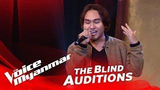 "Timmy: ""မခ်စ္ဘူးမေျပာပါနဲ႔"" - Blind Audition - The Voice Myanmar 2018"