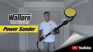 Using the Wallpro Power Sander