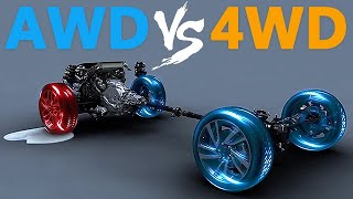 The Difference Between AWD vs 4WD