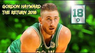 Gordon Hayward - THE RETURN (MOTIVATIONAL)
