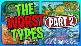 The Worst Types in Every Pokemon Region (Unova - Galar)