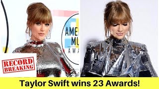 Taylor Swift breaks Whitney Houston's Record | AMAS 2018 | Celeb Tribe