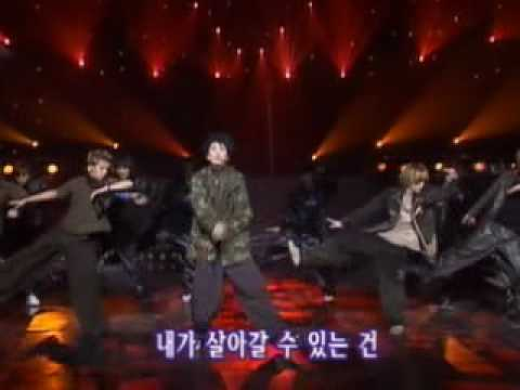 H.O.T - [5th] - [Live] - Outside Castle ~ 001102 ~ KBS Music Bank.mpeg