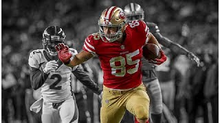 George Kittle 2017-18 49ers Highlights