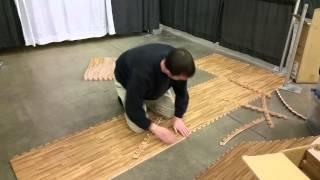 2015.02.25 - Expo 10x10 trade show foam floor