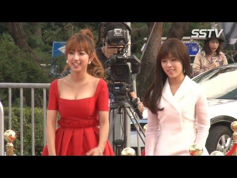 [SSTV] 서울드라마어워즈 타이니지(Tiny-G) 제이민-도희, 큐티+섹시 매력~