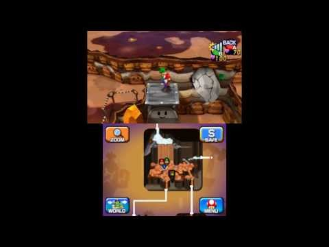 Mario & Luigi: Dream Team - Mount Pajamaja & Dreamy Mount Pajamaja Attack Block Locations - Smashpipe Games