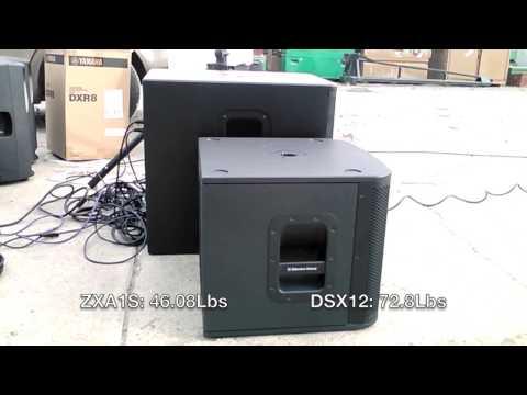 Ev zxa1sub vs yamaha dxs12 for Yamaha dxs12 specs