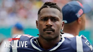 Antonio Brown suspended for 8 games by the NFL | NFL Live