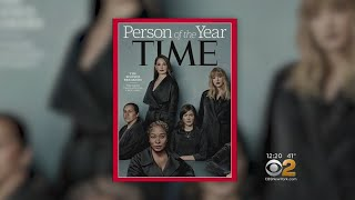 #MeToo 'Silence Breakers' Named Time Magazine's Person Of The Year