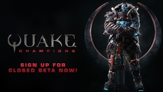Quake Champions opens closed beta signups, play it first at PAX East