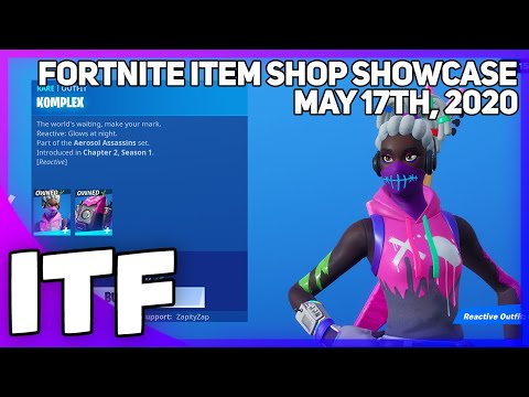 Fortnite Item Shop KOMPLEX SET IS BACK! [May 17th, 2020] (Fortnite Battle Royale)