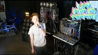 KATY PERRY CHAINED TO THE RHYTHM #COVER ON A MODULAR SYNTH