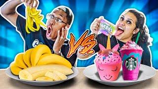 HEALTHY VS JUNK FOOD CHALLENGE!!