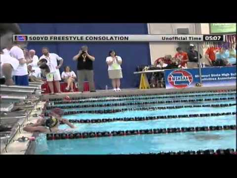 2012 MSHSAA Girls Swimming Finals - Smashpipe sports